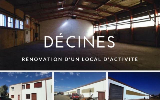 Une rénovation qui commence à prendre forme – Parc des Bruyères à Décines