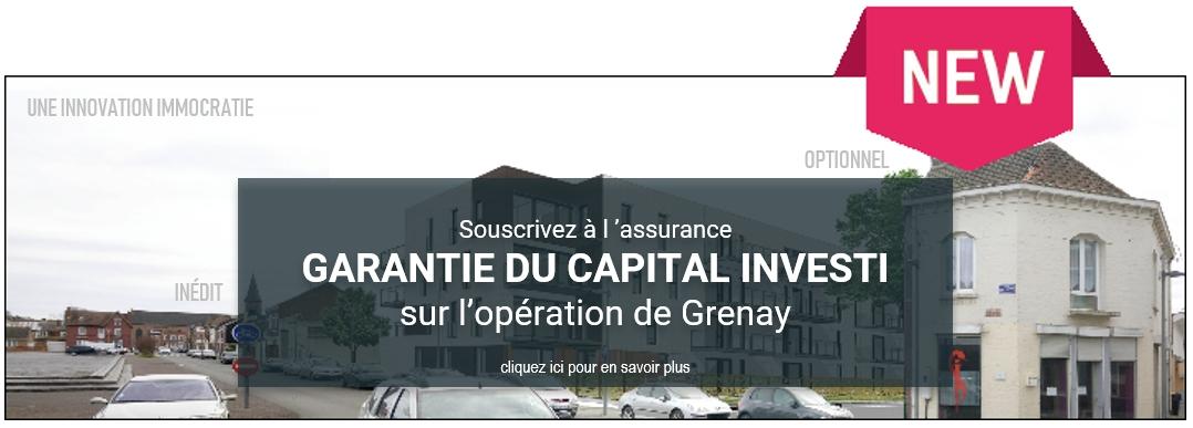 Assurance Garantie du Capital Investi – Opération de Grenay