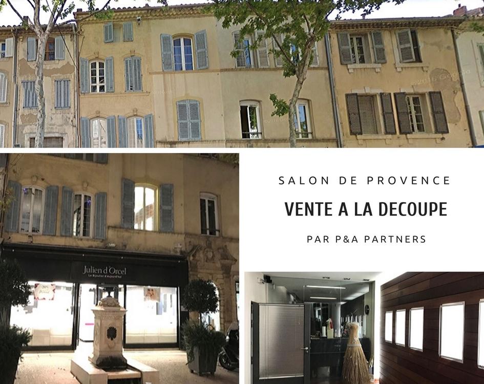 Vente à la découpe – Coeur de ville à Salon de Provence