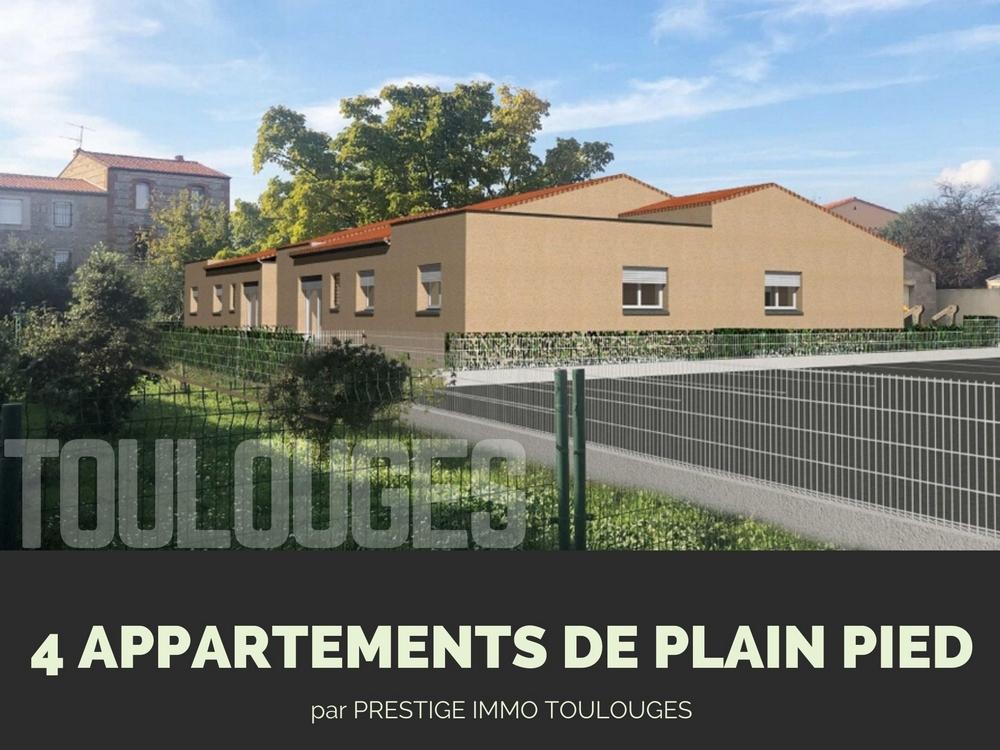 4 appartements de plain pied à Toulouges près de Perpignan