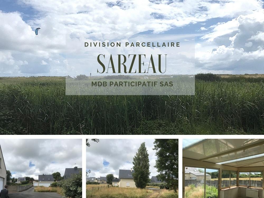Division parcellaire à Sarzeau dans le Morbihan